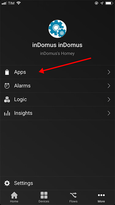 App Homey  -  Apps