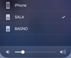 Apple Airplay - selezione