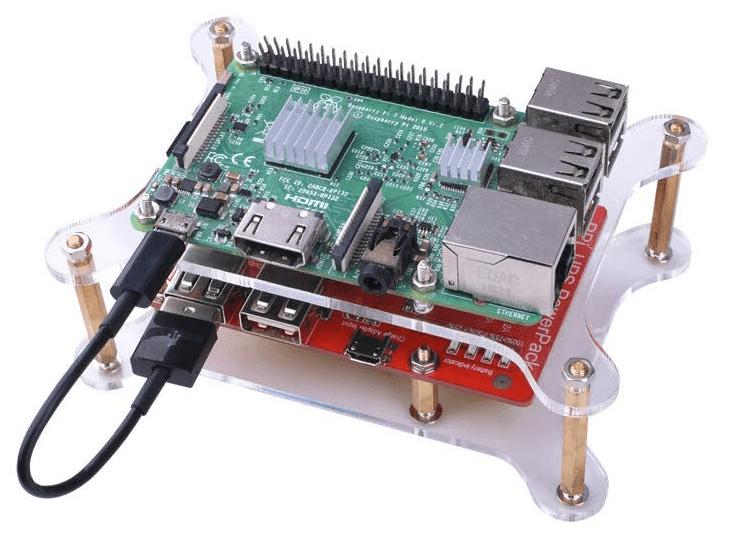 Batterie pour Raspberry Pi - monté