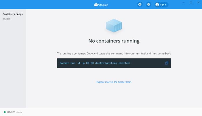 Docker su Windows