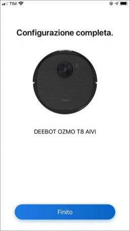 ECOVACS HOME - Installazione DEEBOT OZMO T8 AIVI
