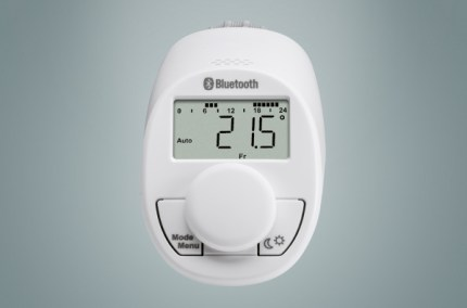 Eqiva Thermostatic Head eQ-3 Bluetooth Smart - Front