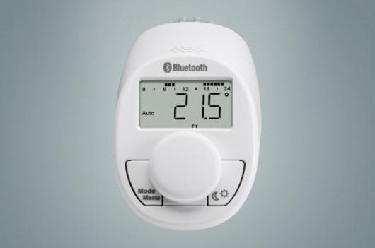 Eqiva Testa Termostatica eQ-3 Bluetooth Smart - Frontale