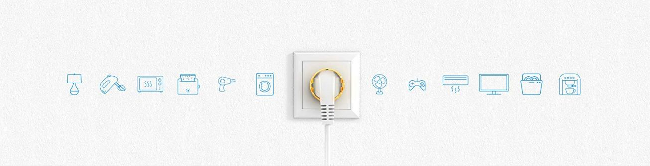 FIBARO Wall Plug - strip