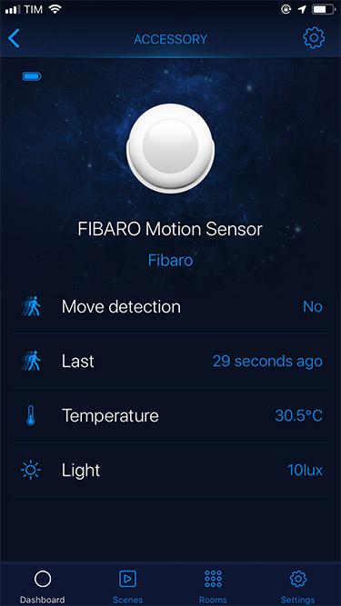 FibaroHome - Motion Sensor  1