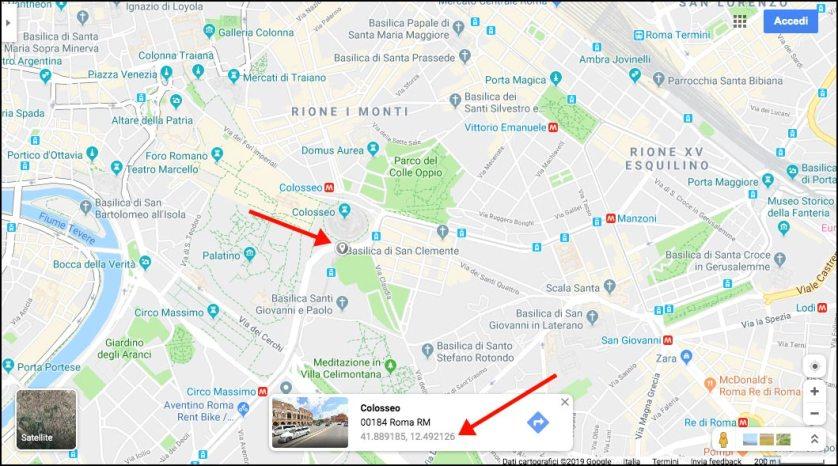 Google Maps - Breite und Länge