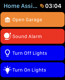 Home Assistant Companion - Appthe Watch