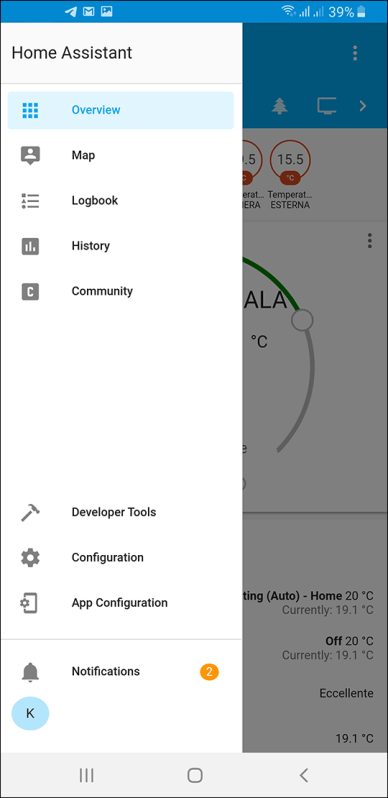 Home Assistant Android app