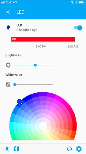 Home Assistant - Flux Led Magic Light Component