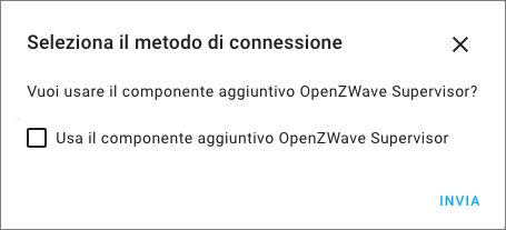Home Assistant - Integrazione OpenZWave - Hassio