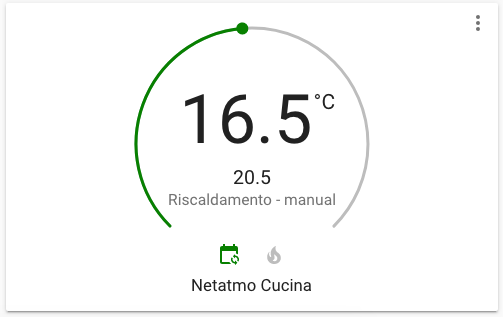 Home Assistant - Netatmo Valvola Termostatica intelligente