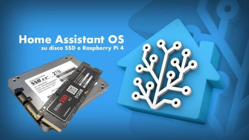 Home Assistant OS su SSD su Raspberry Pi 4