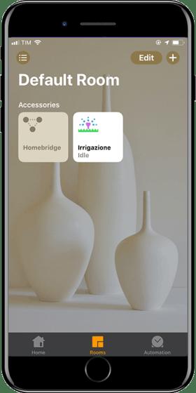 Homebridge - irrigatore