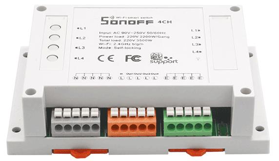 ITEAD Sonoff 4ch - R1