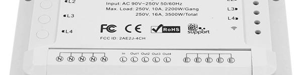 ITEAD Sonoff 4ch - 4ch PRO (R1 und R2)