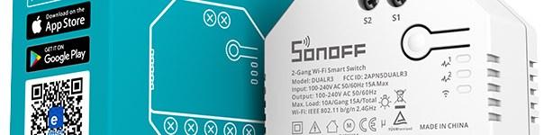 Suona la sveglia in casa ITEAD: ecco Sonoff DUAL R3, il suo primo (vero) attuatore da scatola murale