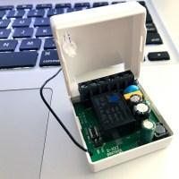 """Realizzare un """"contatto pulito"""" modificando un Sonoff Mini (R1)"""