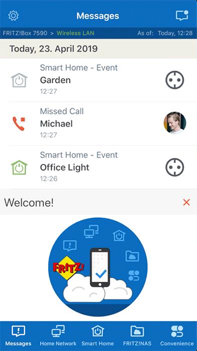 MyFRITZ!App - Screen 1