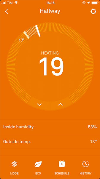 NEST App - Screen 7
