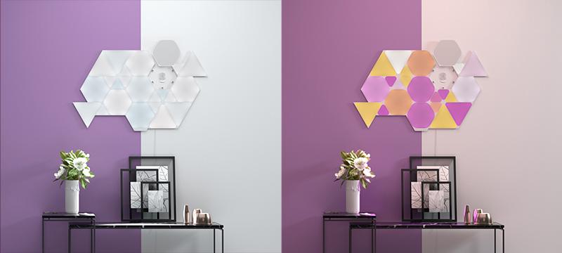 Nanoleaf Shapes - Luce diurna e Decorativa