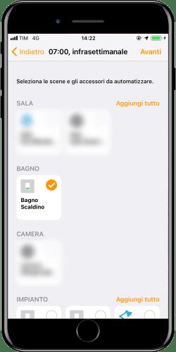 New automation Apple iOS Home - Timetable - Choice Accessory