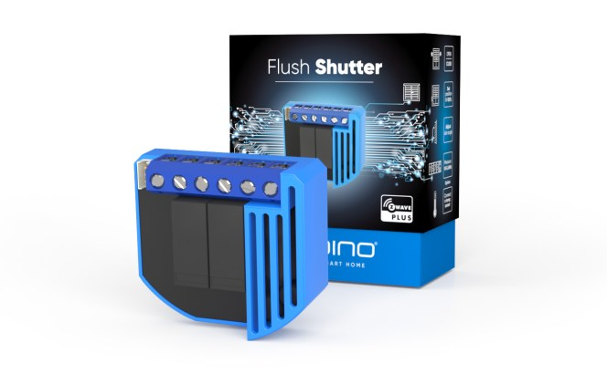 Qubino Flush Shutter - Package