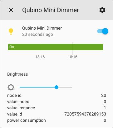 Qubino Mini Dimmer - Integration Home Assistant