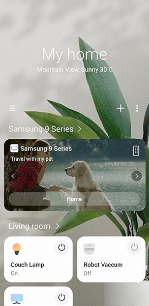 Samsung Smart Things App - 3