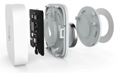 Sensore termico, di umidità e pressione Xiaomi Aqara - esploso