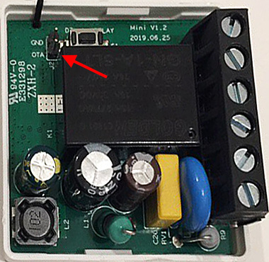 Sonoff Mini - OTA Contacts