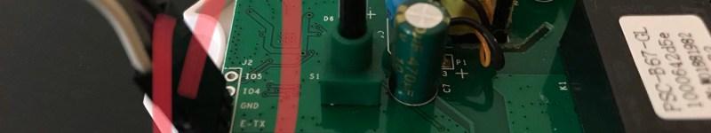 Riproset an ITEAD Sonoff POW using firmware Tasmota