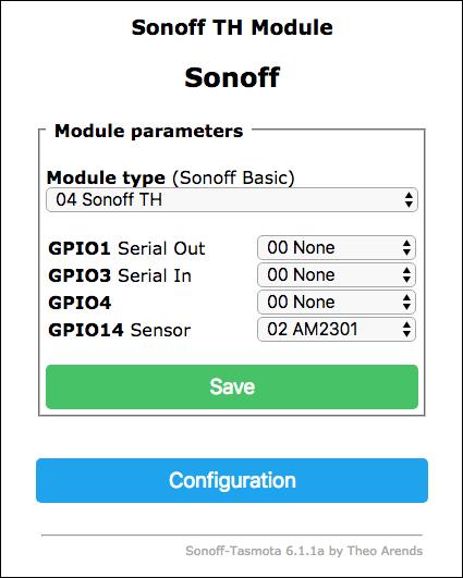 Sonoff TH