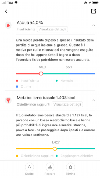 Xiaomi Mi Body Composition Scale 2 - App - 4