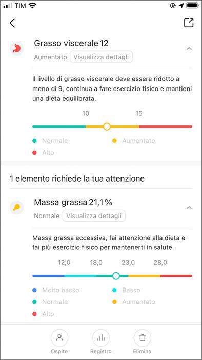 Xiaomi Mi Body Composition Scale 2 - App - 5