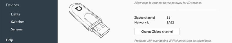 Come usare l'interfaccia web di deCONZ (per pairing, impostazioni ed altro)