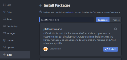ATOM-Installationspakete