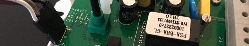 Riprogrammare un ITEAD Sonoff TH-16/TH-10 usando firmware Tasmota