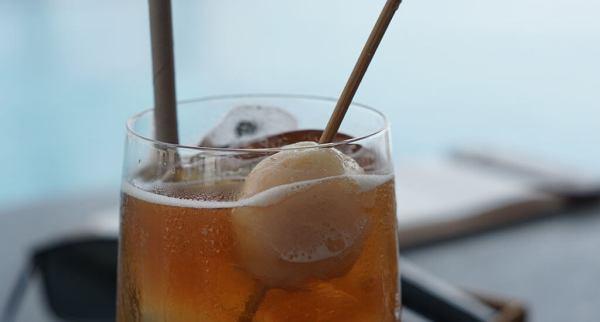 Legian Beach Sunset Drink