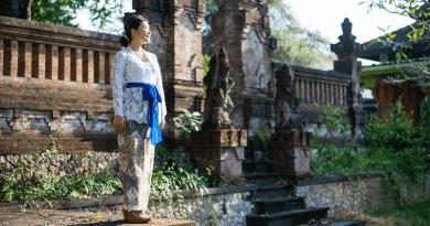 インドネシアの女性用の民族衣装