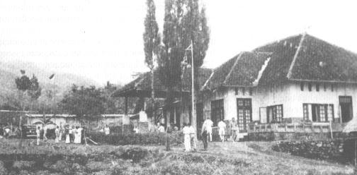 House in Linggarjati as it was during the negotiations