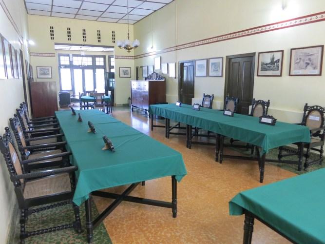 Interieur museum in Linggarjati