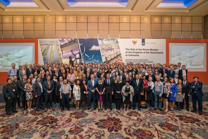 Groepsfoto Handelsmissie Indonesië 2016