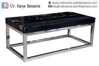 PETRIFIED WOOD COFFEE TABLE - petrified wood indonesia
