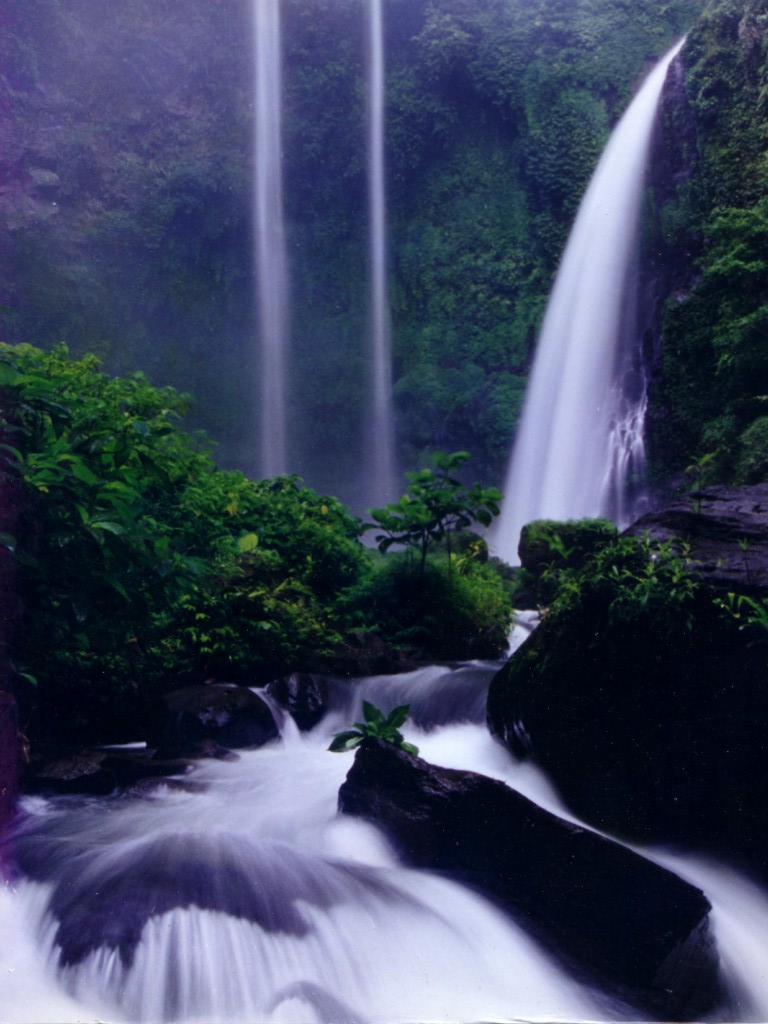 Air Terjun Bajuin  Visit Indonesia  The Most Beautiful