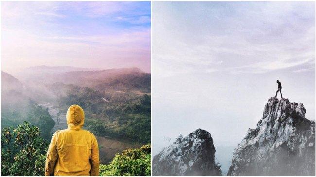 Wisata Alam Tebing Gunung Hawu