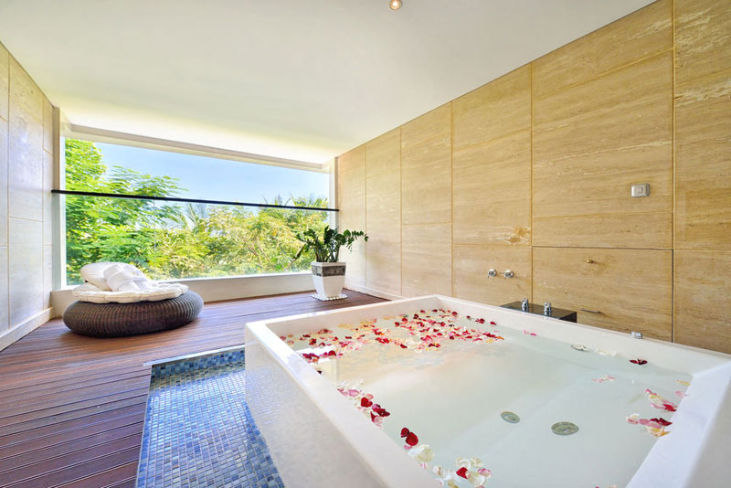 9 Romantic villas with private jacuzzi and a view in Bali