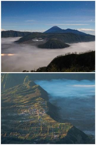 Indonesia Snow Mountain
