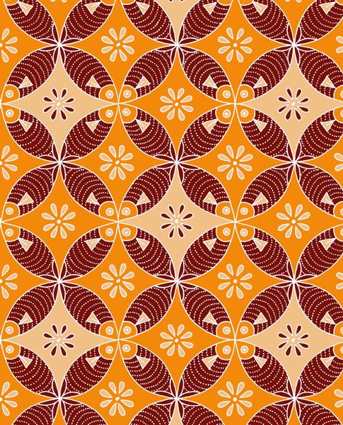 Mina Cinangkinan Geometri 1  Indonesia Batik Corner
