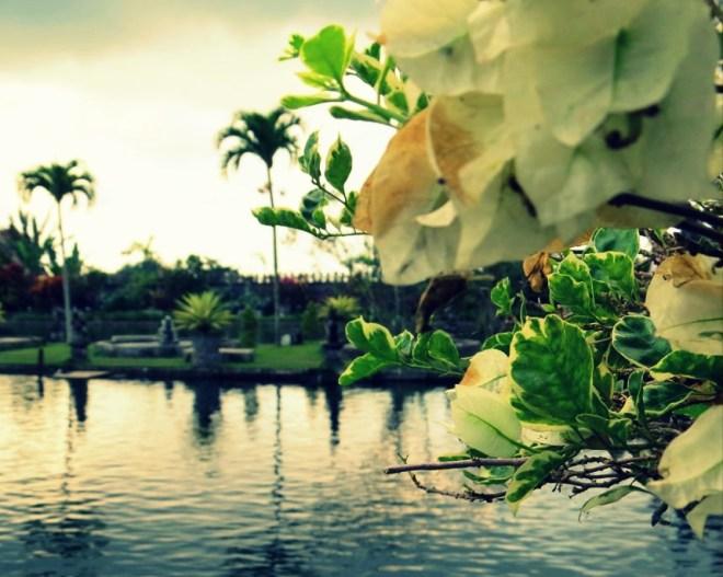 Bali il tirta gangga e l'acqua sacra