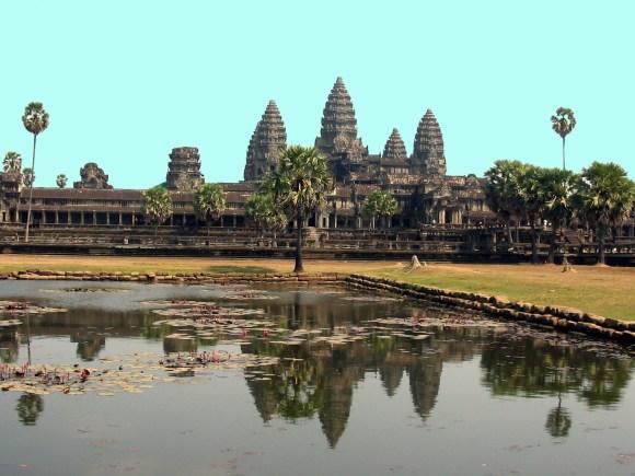 cambogia angkor wat riflesso